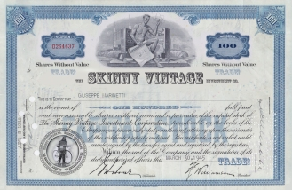 Share Certificate (2012)