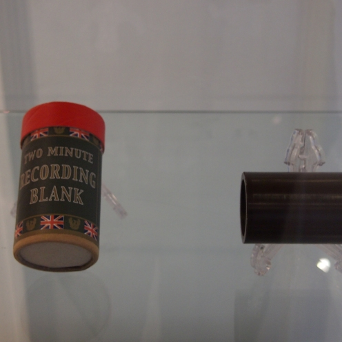 Edison Phonograph wax cylinder