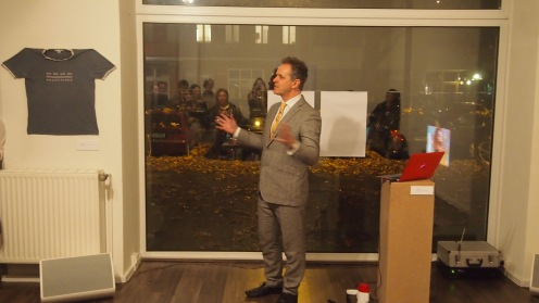 Giuseppe opens the show
